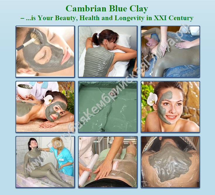 Cambrian Blue Clay - for your Health